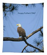 Happy Father's Day Tapestry