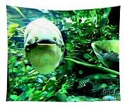 Happy Fish Tapestry