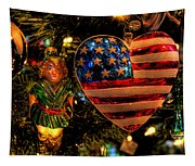 Happy Holidays To All My Faa Friends Tapestry