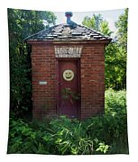 Happy Outhouse Tapestry
