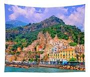 Harbor At Amalfi Tapestry