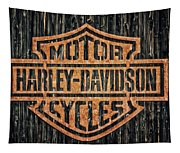 Harley - Davidson Tapestry