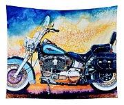 Harley Hog I Tapestry