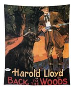Harold Lloyd In Back To The Woods 1919 Tapestry