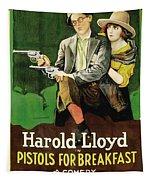 Harold Lloyd In Pistols For Breakfast 1919 Tapestry