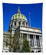 Harrisburg Capitol Building Tapestry