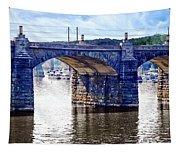 Harrisburg Pa - Market Street Bridge Tapestry