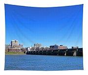 Harrisburg Skyline Tapestry