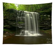 Harrison Wrights Forest Falls Tapestry