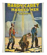 Harry Carey In Marked Men 1919 Tapestry