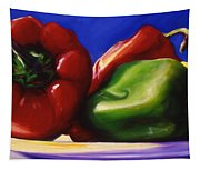 Harvest Festival Peppers Tapestry