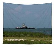 Hatteras Ferry To Ocracoke Tapestry