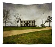 Haunted House On A Hill Tapestry