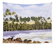Hawaii Postcard Tapestry