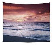 Hawaii Sunset Tapestry