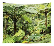 Hawaii Tropical Rainfores Tapestry