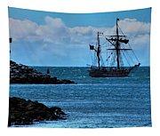 Hawaiian Chieftain-2 Tapestry