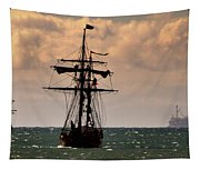 Hawaiian Chieftain-3 Tapestry