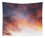 Hawaiian Sunset Clouds Tapestry