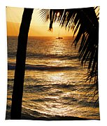 Hawaiin Sunset Tapestry