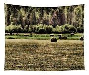 Hay Harvest Tapestry