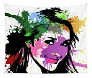 Hayden Panettiere Pop Art Tapestry
