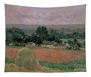 Haystack At Giverny Tapestry