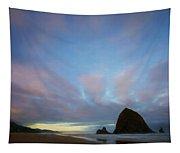 Haystack Rock Morning Tapestry