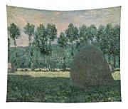 Haystacks Near Giverny Tapestry