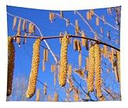 Hazelnut Tassels Tapestry