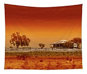 Hazy Days Tapestry