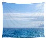 Hazy Ocean View Tapestry
