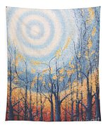 He Lights The Way In The Darkness Tapestry
