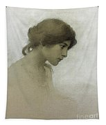 Head Of A Girl  Tapestry
