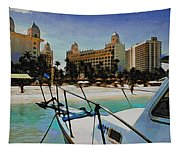 Headed For The Beach Tapestry