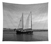 Headed Out To Sea Tapestry