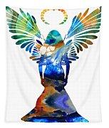 Healing Angel - Spiritual Art Painting Tapestry