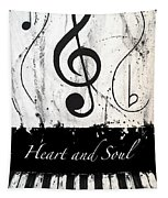 Heart And Soul - Music In Motion Tapestry