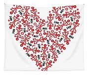 Heart Icon Tapestry