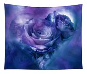 Heart Of A Rose - Lavender Blue Tapestry