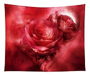 Heart Of A Rose - Red Tapestry