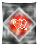 Heart Of Hearts Tapestry