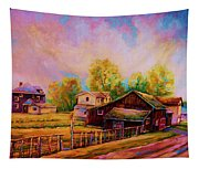 Hearth And Home Tapestry
