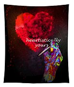 Heartistically Yours Tapestry