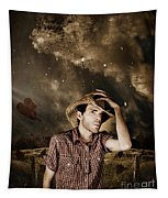 Heartland Of Outback Country Australia Tapestry