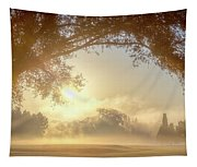 Heavenly Arch Sunrise Tapestry