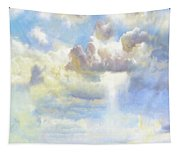 Heavenly Clouded Beautiful Sky Tapestry