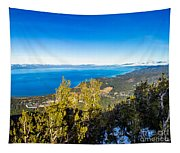Heavenly South Lake Tahoe View 1 - Right Panel Tapestry