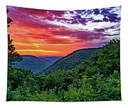Heaven's Gate - West Virginia - Paint Tapestry