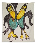 Heckle And Jeckle Tapestry